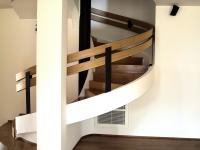 rivestimento scala a tappeto legno rovere
