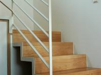 scale acciaio e legno