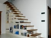 scala a sbalzo con libreria